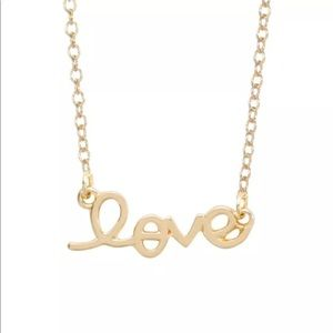 Love Monogram Necklace